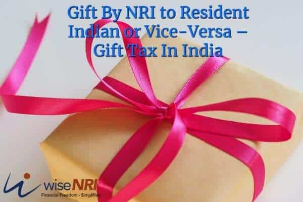 gift tax in india
