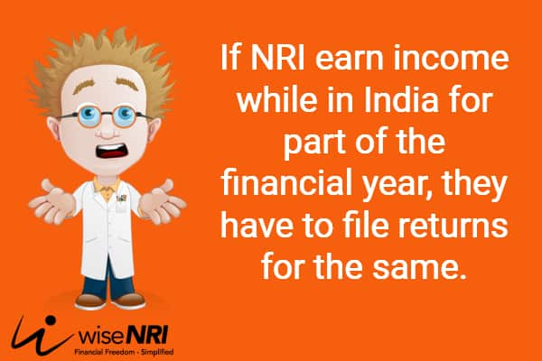 How to file tax return for NRI