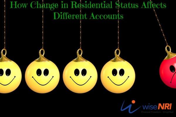 NRI Change in Residential Status