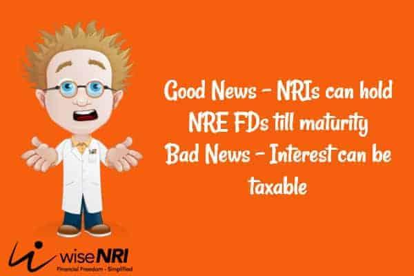 NRE Fixed Deposit