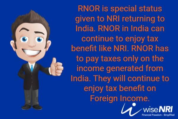 RNOR Tax Benefits