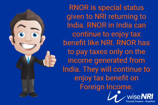 not ordinarily resident indian income tax