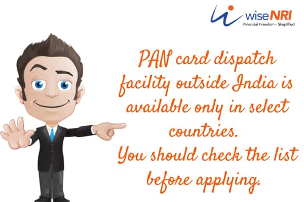 pan for nri procedure