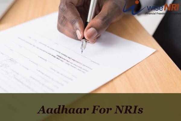 Aadhaar For NRIs