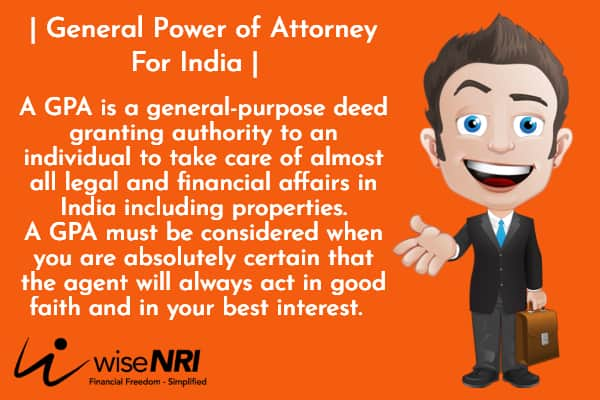 general power of attorney for india