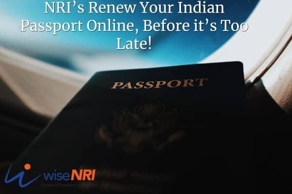 NRI Passport renewal