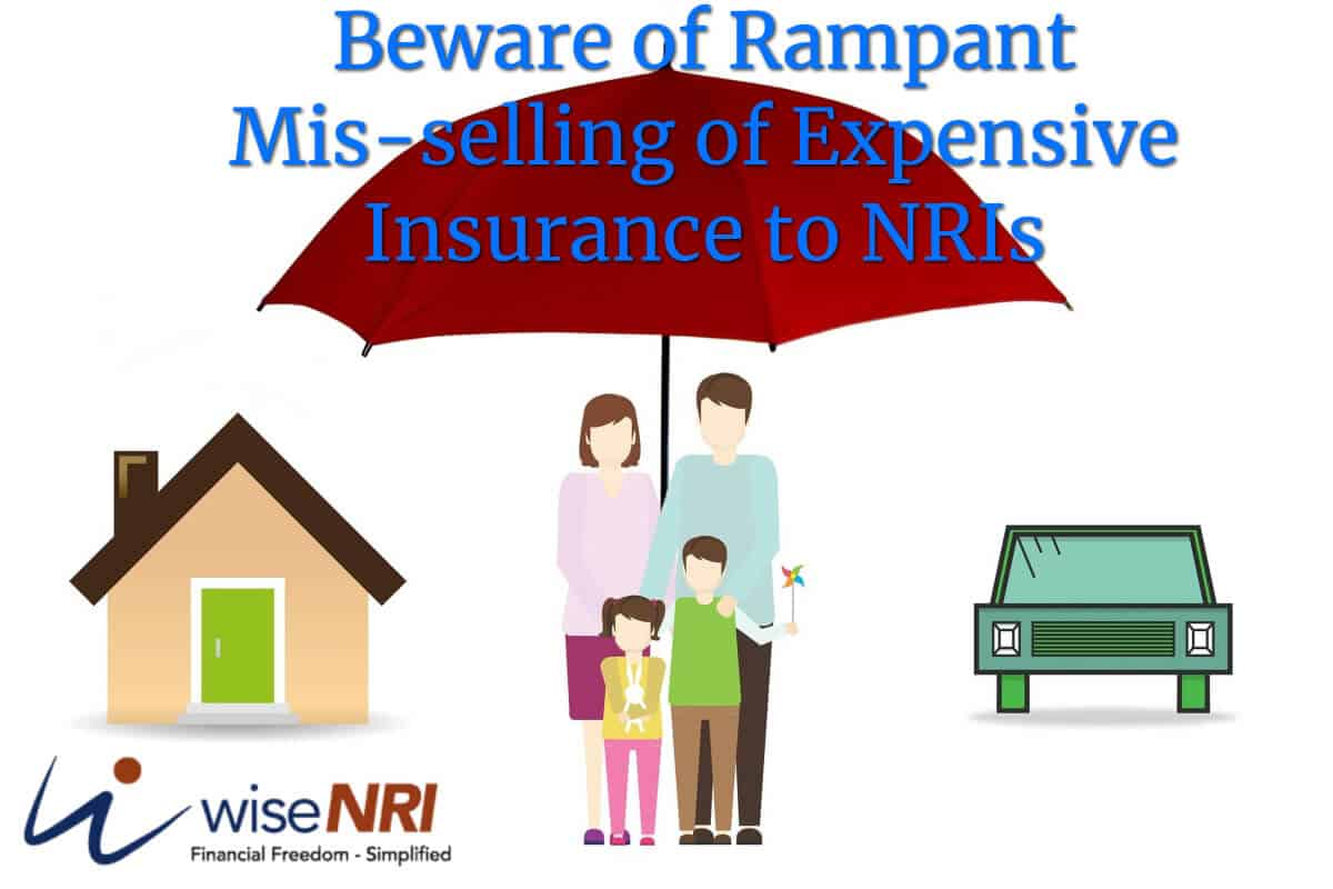 mis selling of insurance policies to nri